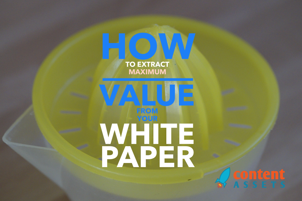 Repurposing your white paper